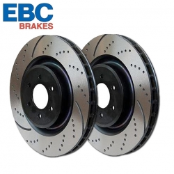 EBC GD Slotted and Dimpled Rotors
