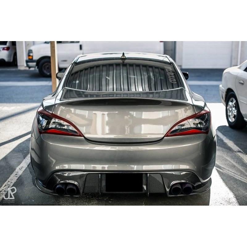 Seibon Sp Rear Diffuser Genesis Coupe