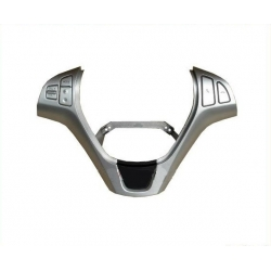 Steering Wheel Silver Cover