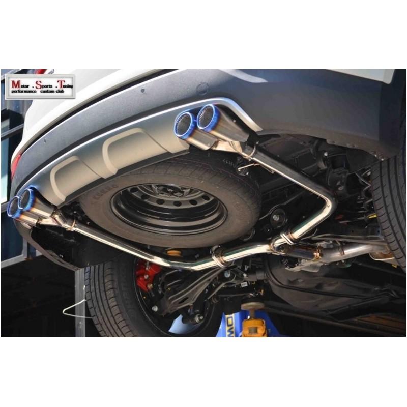 Ajun Axle Back Exhaust
