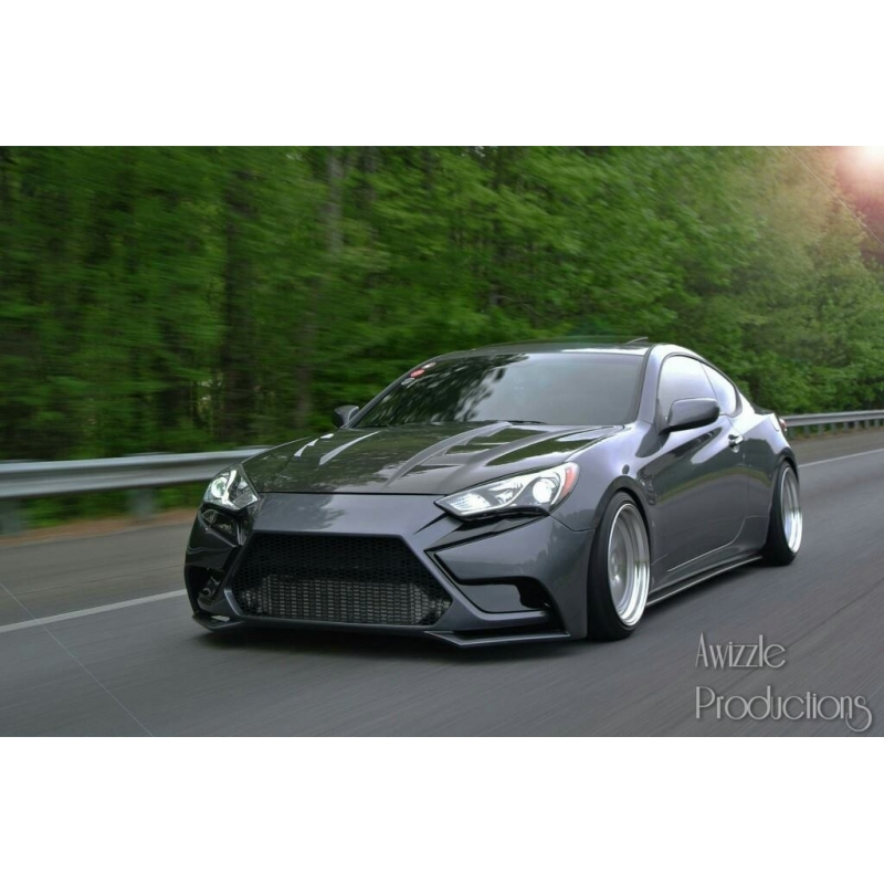 2016 Hyundai Genesis Coupe >> Canament Front Bumper genesis coupe