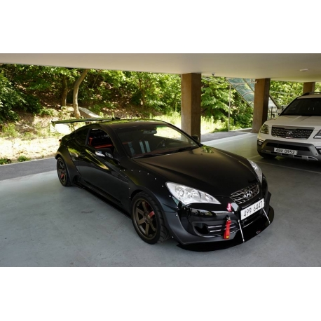 Hyundai Genesis 2012 Coupe >> Sequence Wide Fender Body Kit BK1 genesis coupe