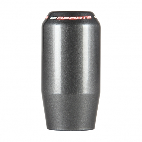 DC Sports Weighted Shaft Type Shift Knob Gun Metal Gray