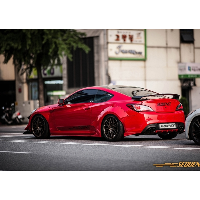 Sequence wide fender body kit bk2 genesis coupe bk