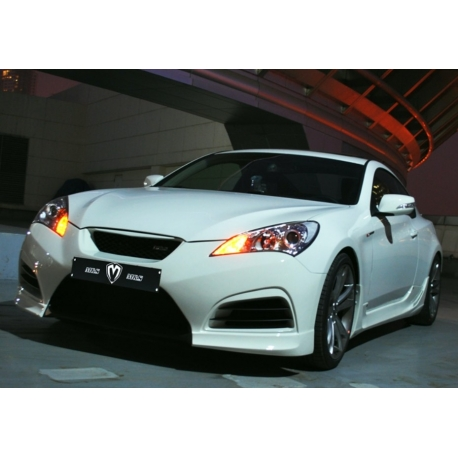 M Amp S Carart Night Shadow Front Bumper Genesis Coupe