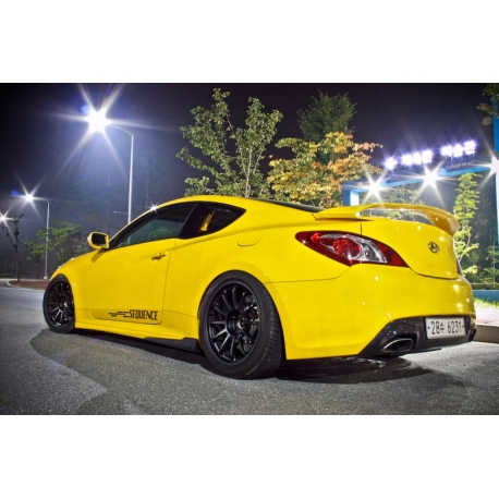 Sequence Spec 1 Sideskirts Genesis Coupe
