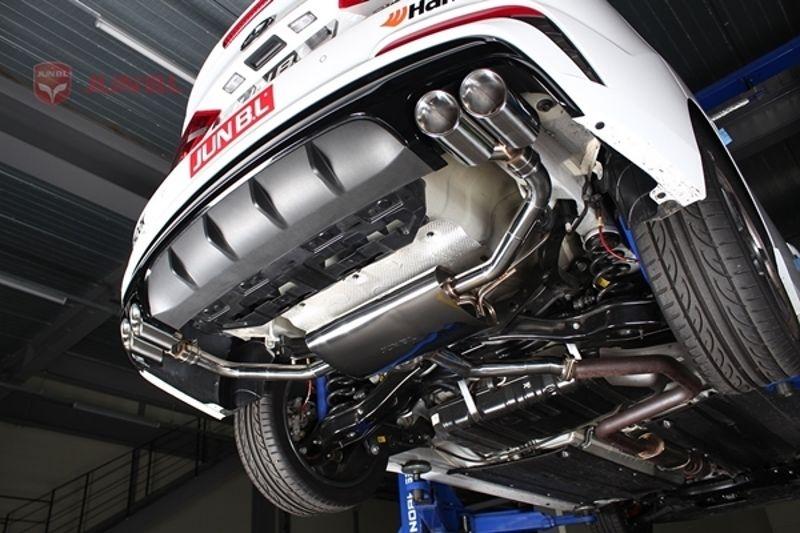 on 03 Hyundai Elantra Engine