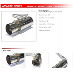 Ajun Single Exit Catback Exhaust