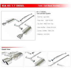 Ajun Desel 1.7L Catback Exhaust