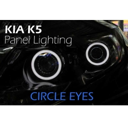 Led&Car Angel Eye Rings
