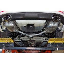 Mobis Dual Exhaust+Diffuser Kit