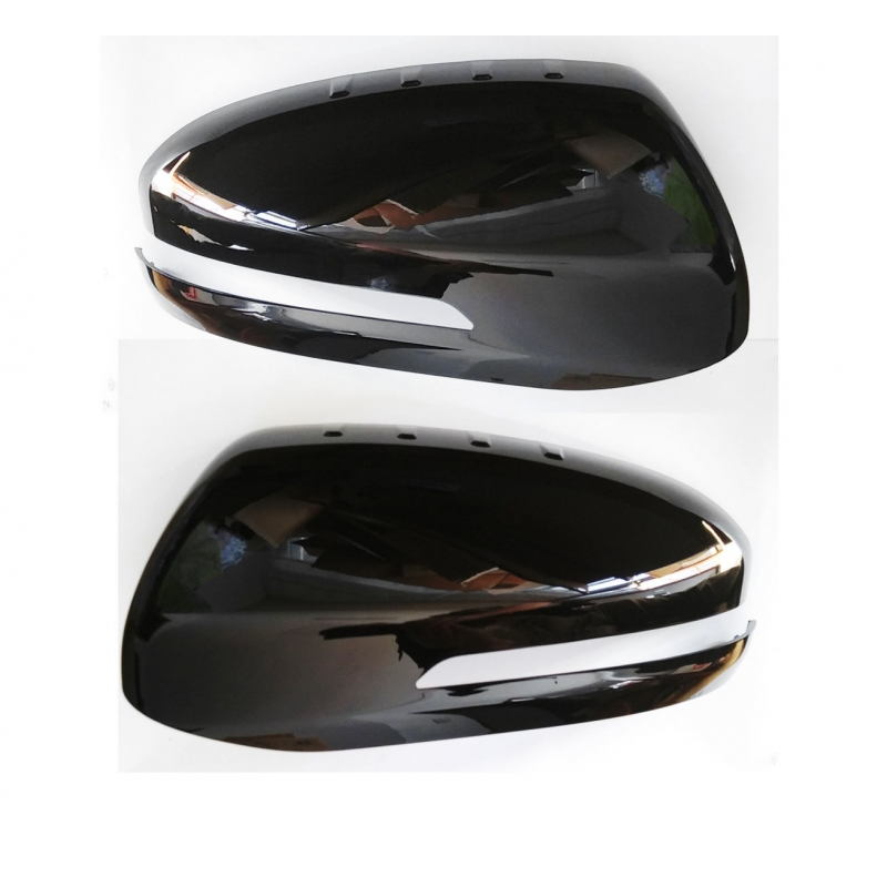 Real Carbon 3D Black Side Mirror Cover for KIA 14 15 16 17 18 Forte /& Forte 5