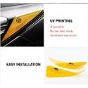Orange Reflector Sticker