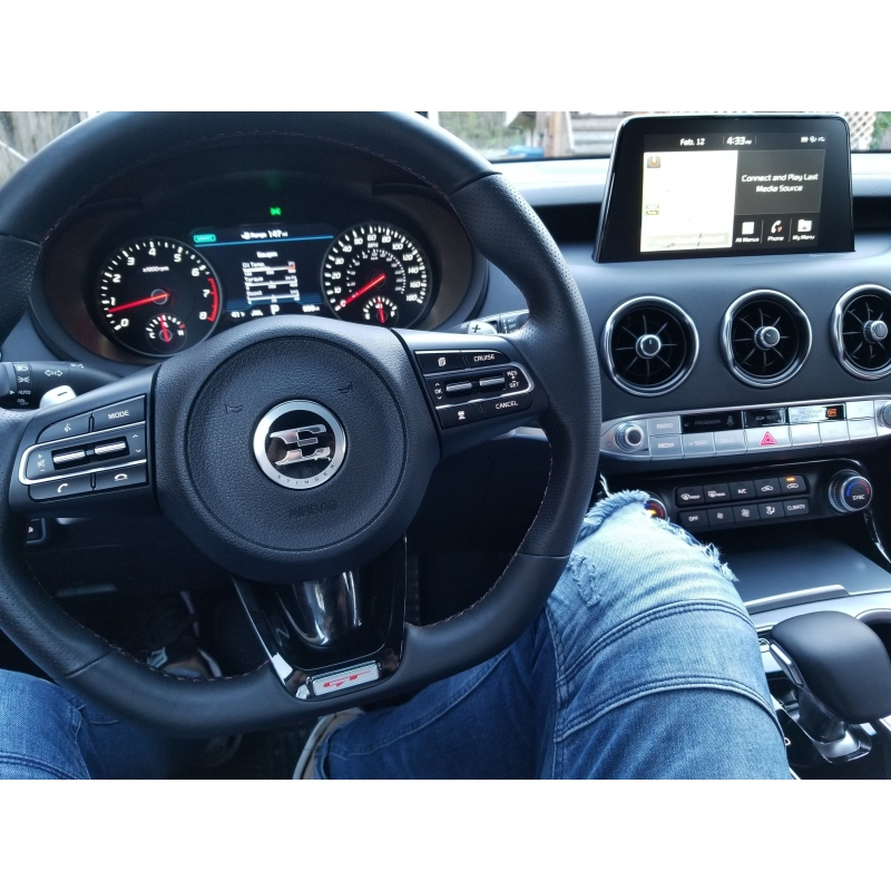 33 Gt D Cut Steering Wheel Kia Stinger