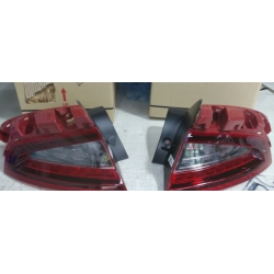 LED KDM Tail Lights with Black Housing