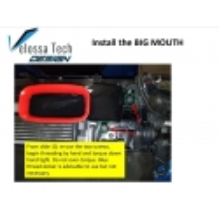 Velossa Tech Big Mouth Ram Air Intake