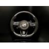 3.3 GT Carbon Fiber/Alcantara D-Cut Steering Wheel