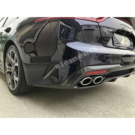 Element6 Carbon Fiber Rear Bumper Vents