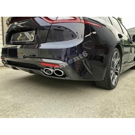 Element6 Carbon Fiber Rear Bumper Vents