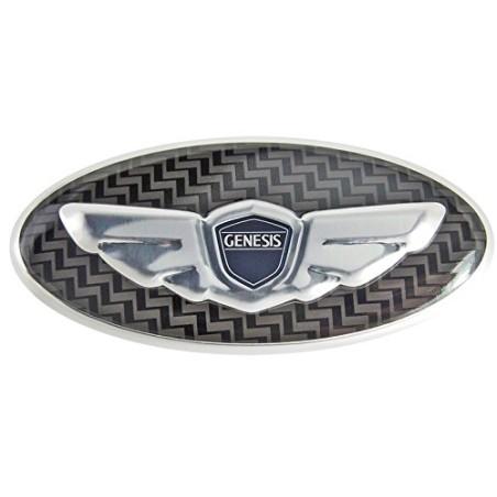 Loden 3D/Carbon Wing Steering Wheel Emblem