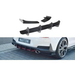 Maxton Design N Rear Diffuser + Side Wings