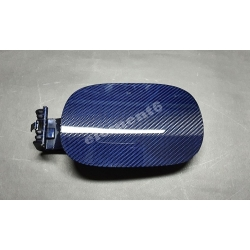 Element6 Blue Carbon Fiber Fuel Cap