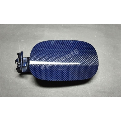Element6 Blue&Red Carbon Fiber Fuel Cap