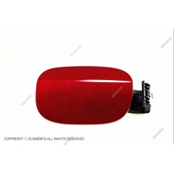Element6 Red Carbon Fiber Fuel Cap