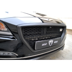 M&S DH Front Grill