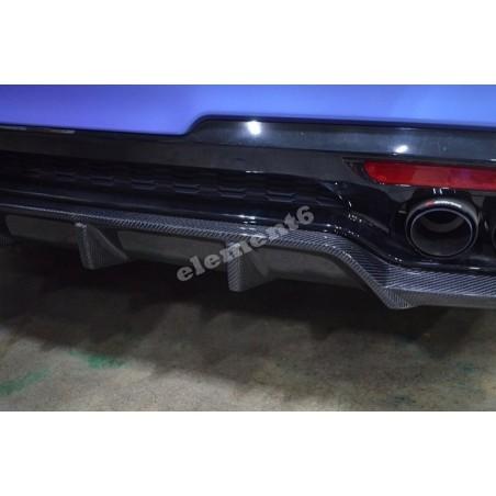 Zest Carbon Fiber Rear Diffuser