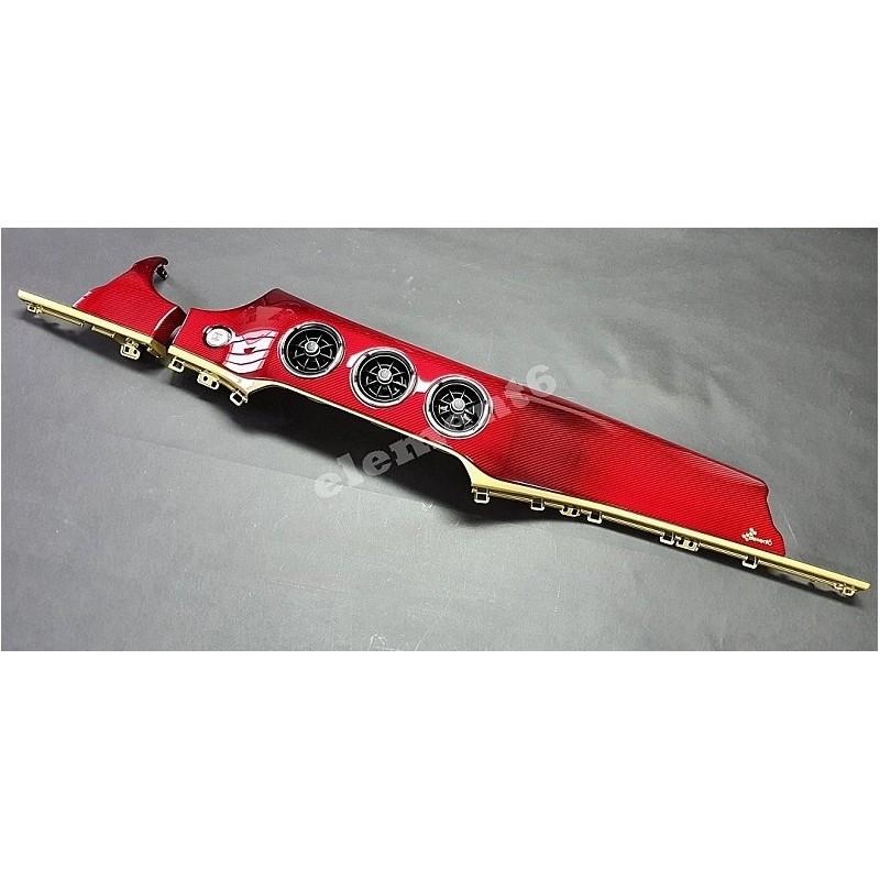 Element6 Red Carbon Fiber Dash Cover