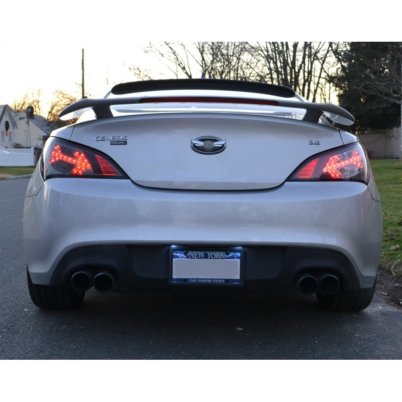 Spyder Auto Led Tail Lights Black Genesis Coupe