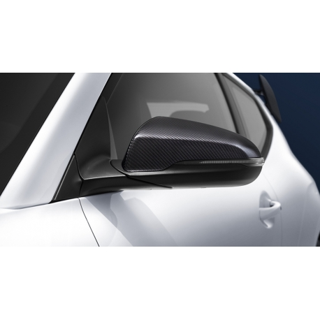N Perfromance Carbon Fiber Side Mirror Covers