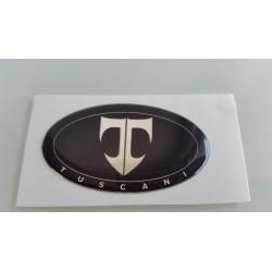 Tuscani Black Steering Wheel Emblem