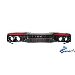 Element6 OEM FL Carbon Fiber Rear Diffuser