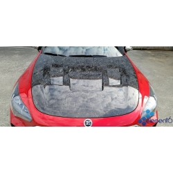 Element6 Forged Carbon Fiber Vented Hood