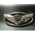 Chrome Wing Emblems (set)