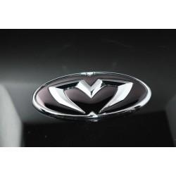 M&S Carart Oval Chrome Emblem
