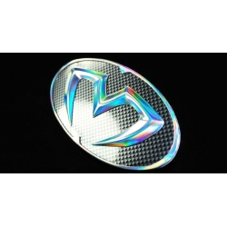 M&S Carart Oval Hologram Emblem