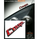 Coupe lettering