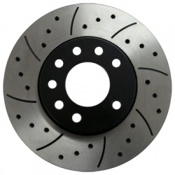 MTEC Drilled and Slotted Rotors