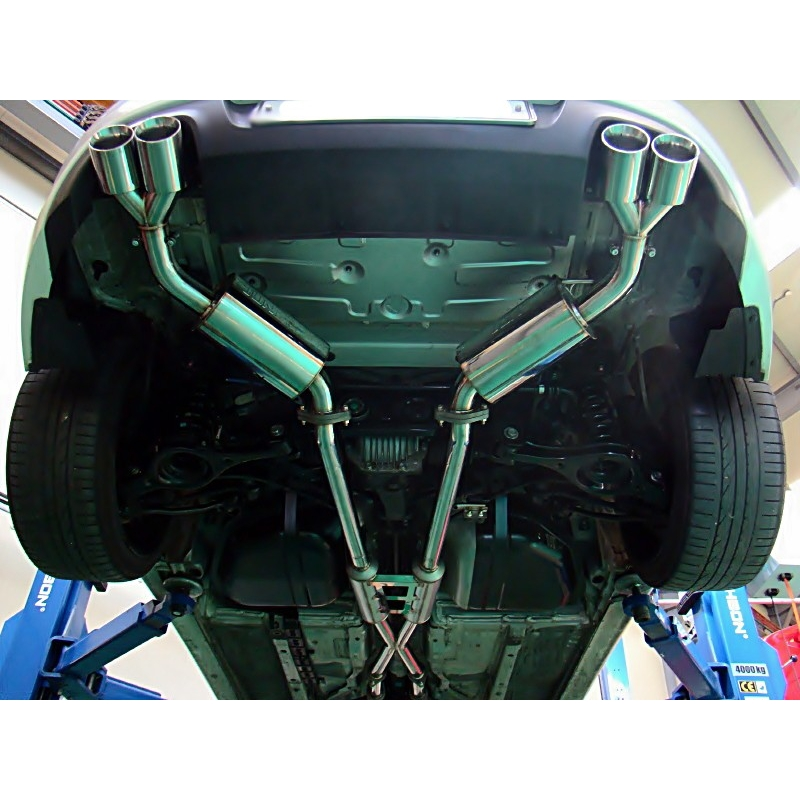 Top Of The Line Hyundai: Jun B.L 3.8MPi / 3.8 GDi R-Type Cat-back System Genesis Coupe