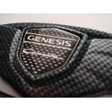 Carbon Fiber Look Wing Emblems