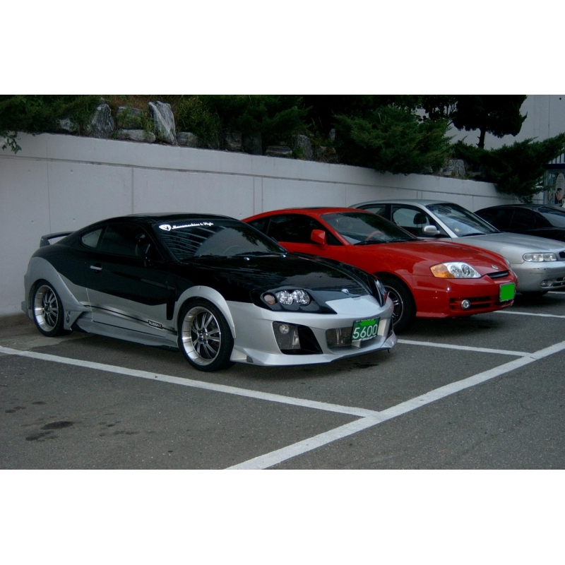 Hyundai Sonata Parts >> M&S Carart Warrior Wide Body Kit hyundai tiburon