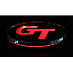 GT Led badge