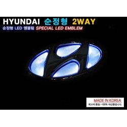 Hyundai Led badge