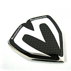 M&S Carbon Fiber Shield Badge