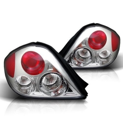 GK Euro Style tail lamps (black/chrome)