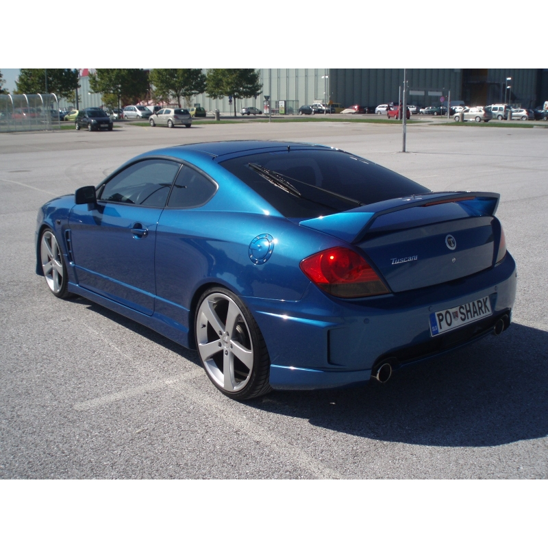 oem high spoiler hyundai tiburon. Black Bedroom Furniture Sets. Home Design Ideas