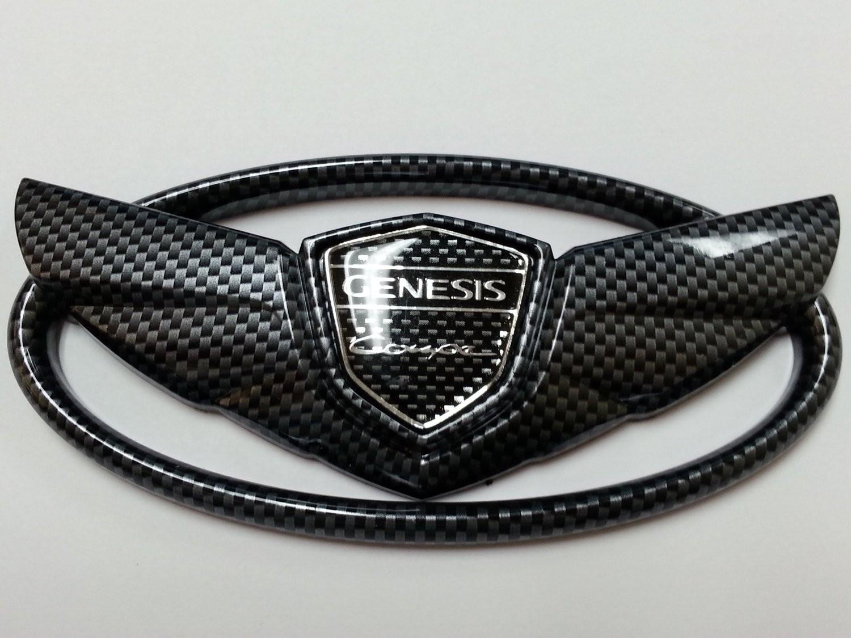 black hyundai genesis logo. black hyundai genesis logo